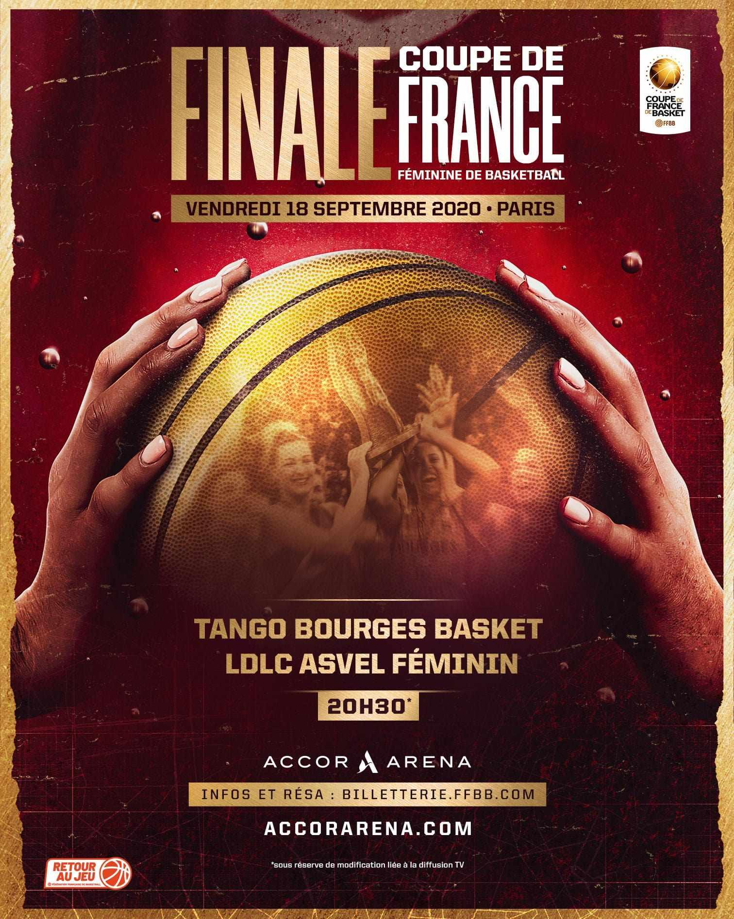 COUPE DE FRANCE FÉMININE DE BASKET